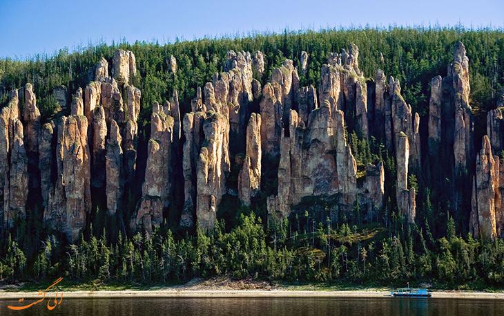 پارک ملی ستون های لنا روسیه