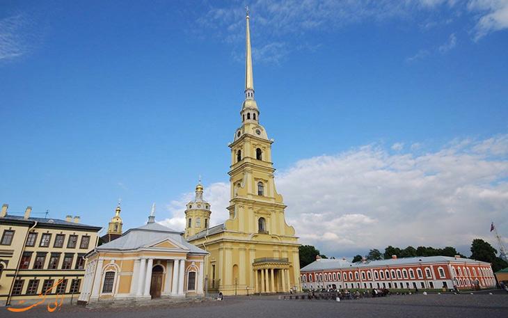کلیسای پتر و پاول سنت پترزبورگ