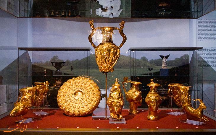 گنج طلای پاناگیوریشت بلغارستان