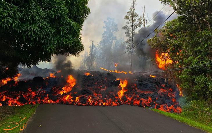 حقایقی از آتشفشان ها در مورد سطح انفجاری فوران