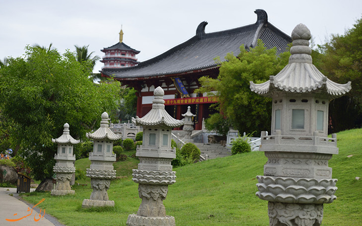 روی دیگری از فرهنگ چینی در سانیا جزیره هاینان