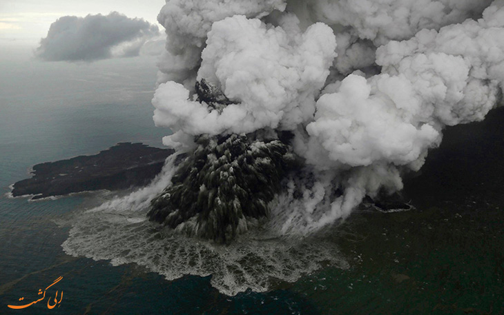 حقایقی از آتشفشان ها در خصوص فوران های زیر دریا