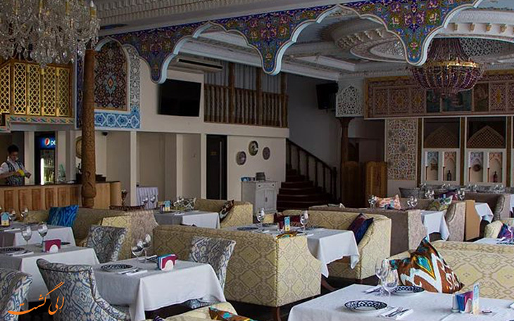 رستوران حلال ناوروز سنت پترزبورگ