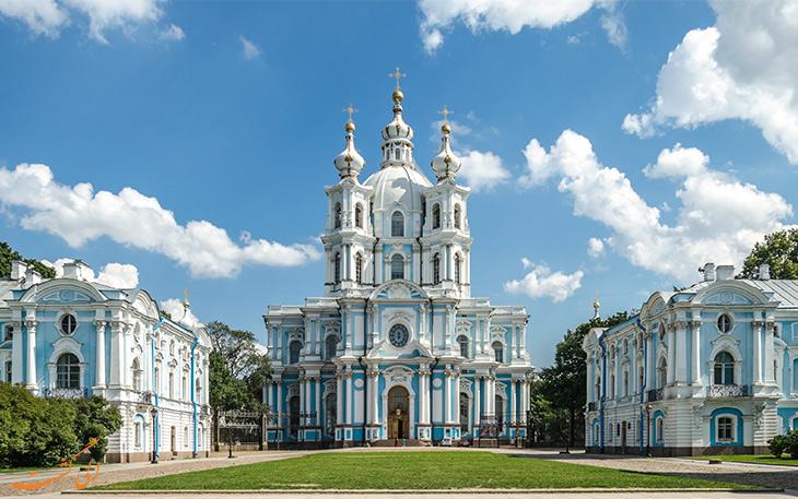 کلیسای اسمولنی سنت پترزبورگ