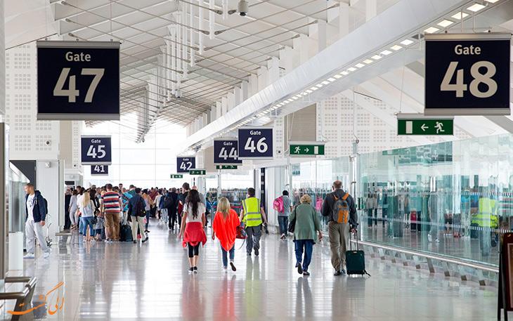 روش های حمل و نقل در فرودگاه بین المللی بیرمنگام