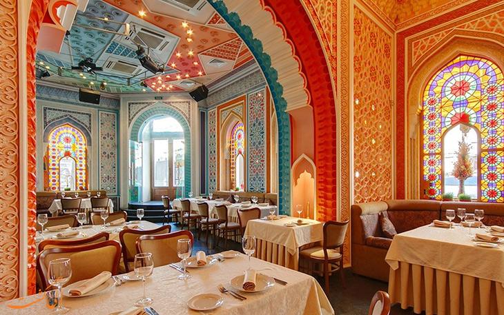 رستوران حلال باکو در سنت پترزبورگ