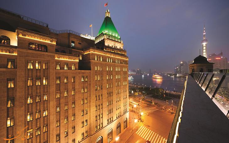فیرمونت پیس شاهکار معماری در بهترین هتل های شانگهای