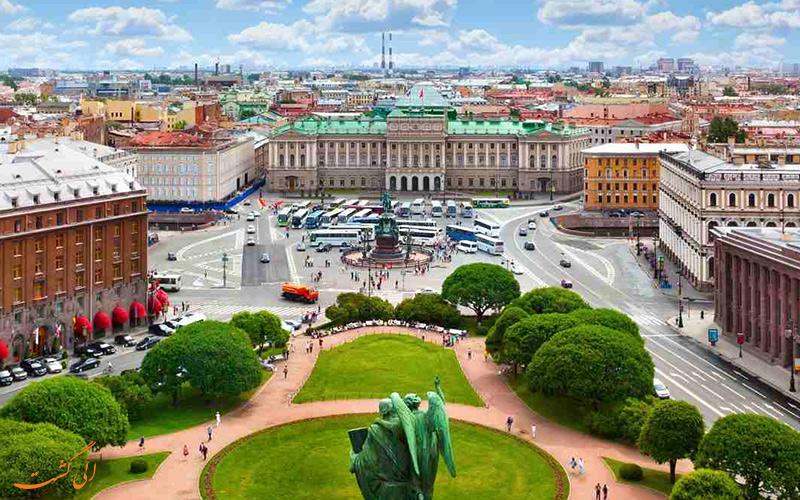 میدان اسحاق مقدس سنت پترزبورگ-برنامه سفر به سنتپترزبورگ