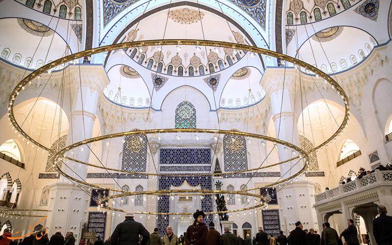 نمای داخلی مسجد جامع چاملیجا