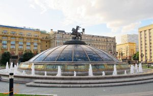 میدان مانژ در مسکو
