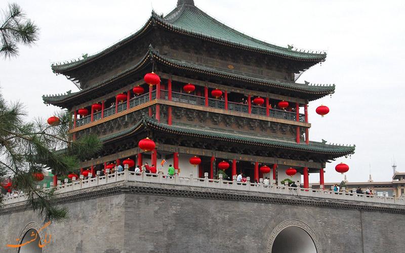 برج طبل، یکی از جاذبه های تاریخی موجود در چین | Bell Tower