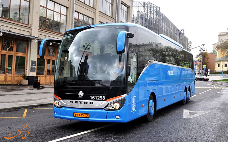 اتوبوس در روسیه