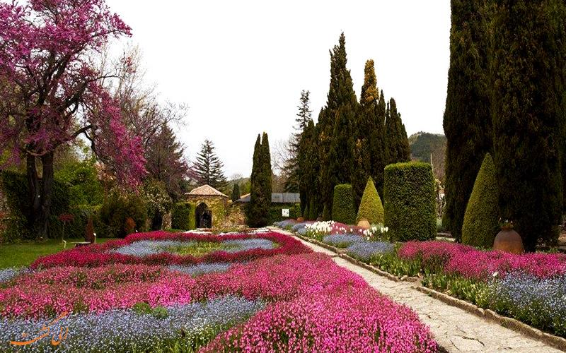 باغ گیاه شناسی در کاخ بالچیک