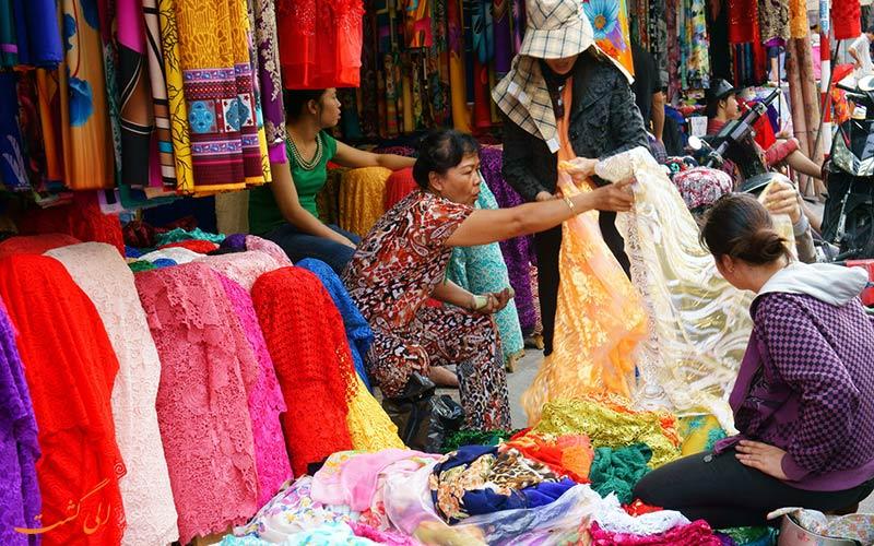 خیابان ژیدان، بازار لباس چین   Xidan Street
