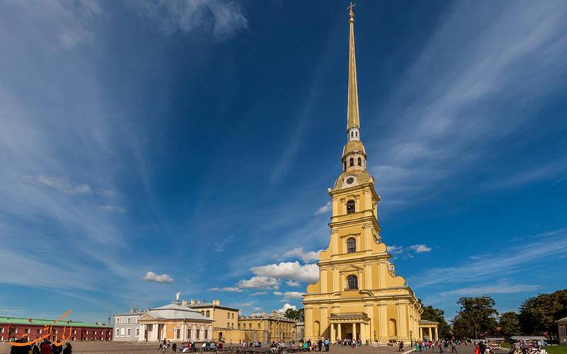 کلیسای پل و پیتر در سنت پترزبورگ | Peter and Paul Cathedral