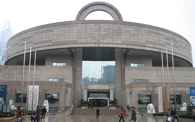 موزه شانگهای در چین ، موزه ی هنرهای مردم چین باستان