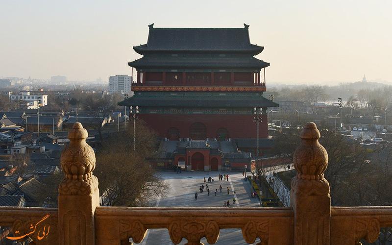 برج طبل و برج ناقوس پکن | Beijing Bell and Drum Towers