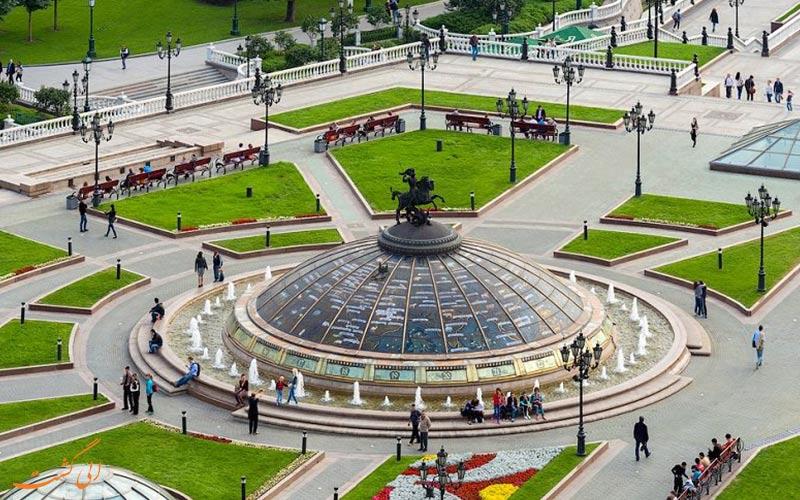 میدان مانژ در مسکو | Manege Square in Moscow