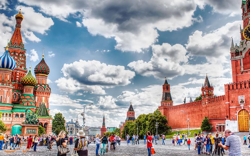 تورهای متنوع روسیه