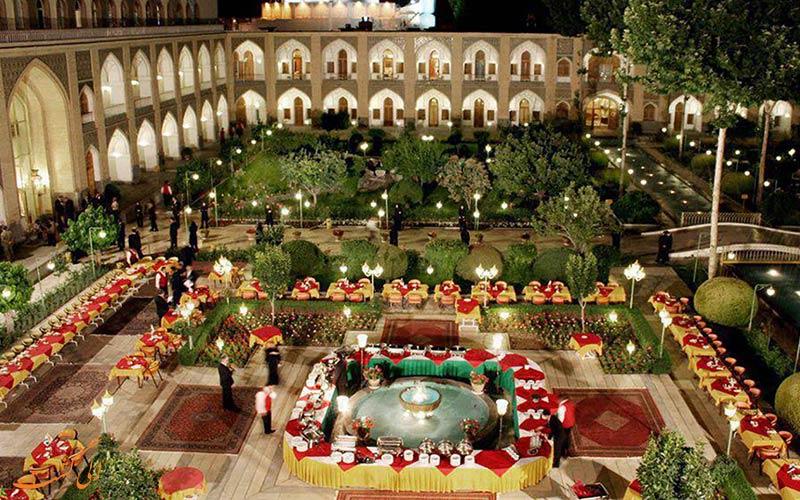 خدمات هتل عباسی در اصفهان