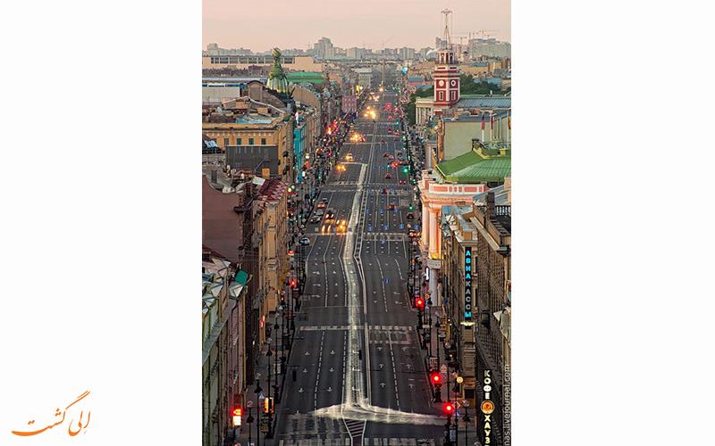 همه چیز درباره ی خیابان معروف روسی، خیابان نوسکی پراسپکت در سنت پترزبورگ