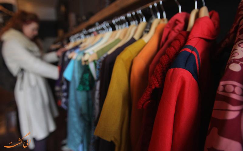 هزینه ی خرید پوشاک و لباس در روسیه