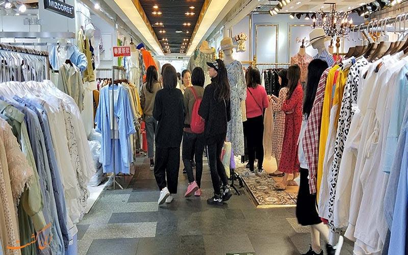 بازار لباس چین ، معرفی بازارها و مراکز فروش لباس در چین