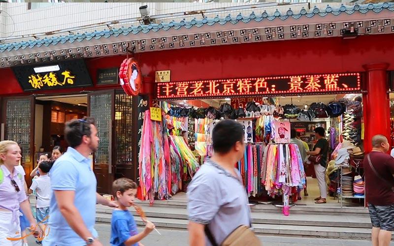معرفی بازارها و مراکز فروش لباس در چین، بازار عمده فروشی لباس شاهه   Shahe Clothes wholesale Market