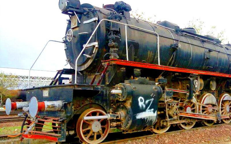 از قدیم ترین انواع قطارهای رجا در موزه راه آهن