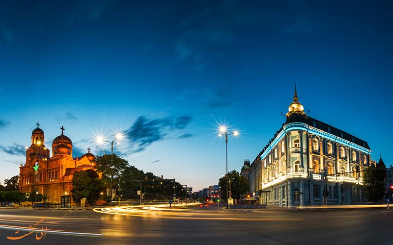 شهر وارنا در بلغارستان