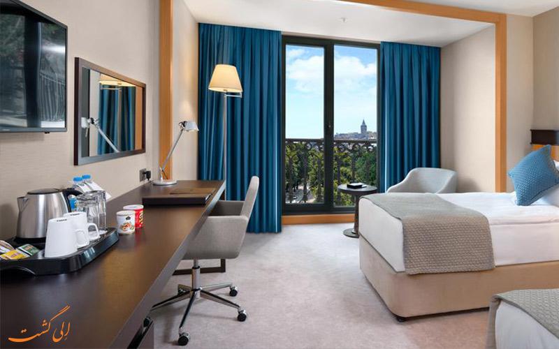 امکانات درون اتاق های هتل پورت بسفروس استانبول
