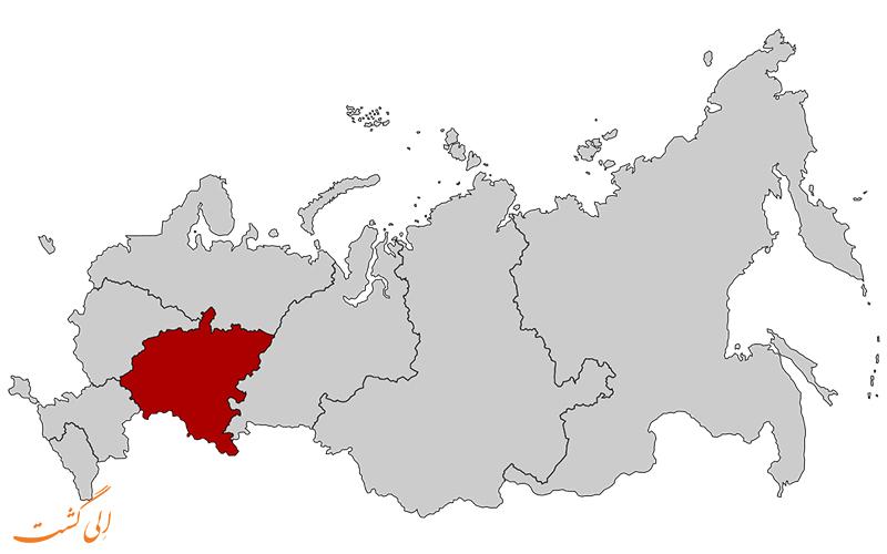 ایالت-ولگا-نقشه-کامل-روسیه