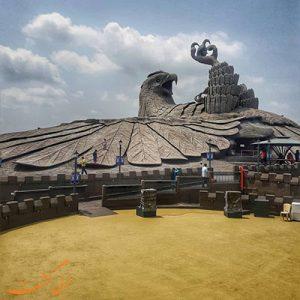 بازدید از بزرگترین مجسمه پرنده جهان