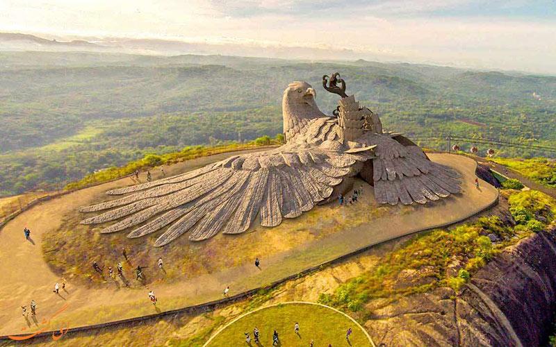 بزرگترین مجسمه پرنده جهان