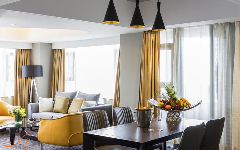 بهترین اتاق های هتل گرند مرکور شانگهای