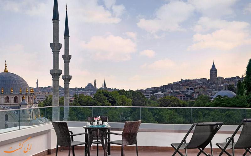 بهترین خدمات در هتل پورت بسفروس استانبول