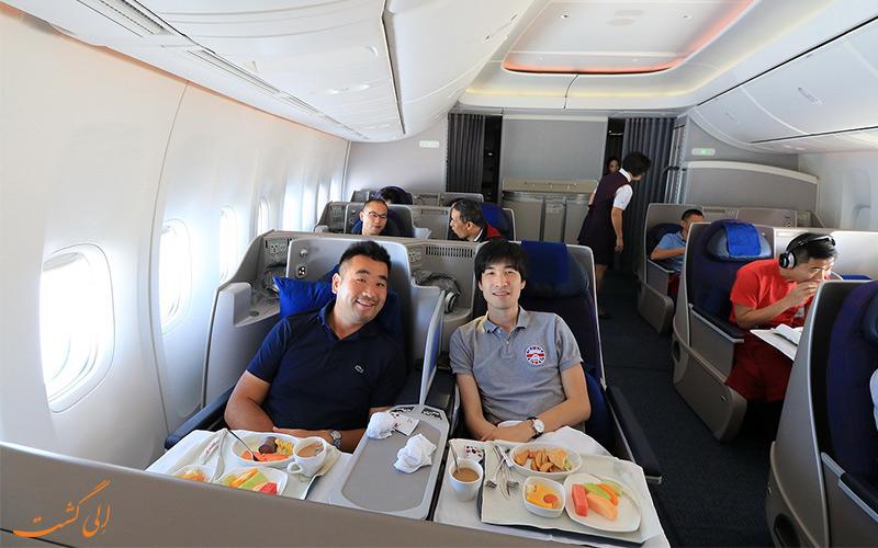 خدمات ویژه پرواز در سفر پکن به شانگهای
