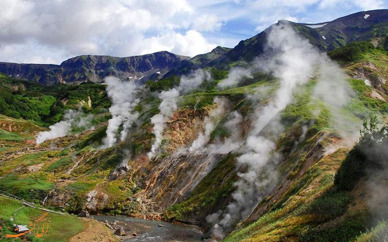 دره آتشفشان ها برای طبیعت گردی-دیدنی های روسیه