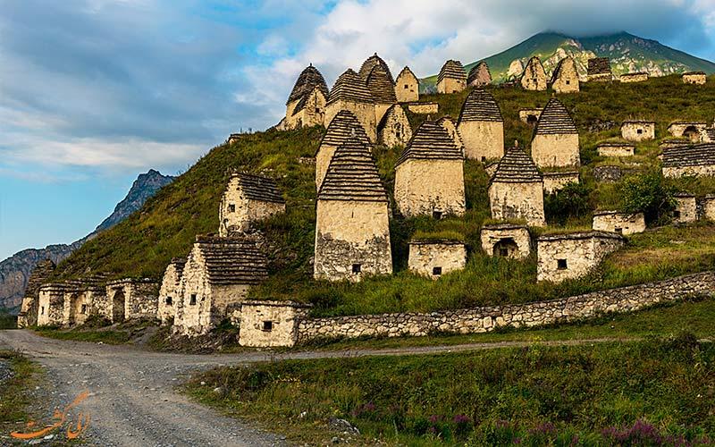 روستای باستانی دارگاوس از دیدنی های روسیه