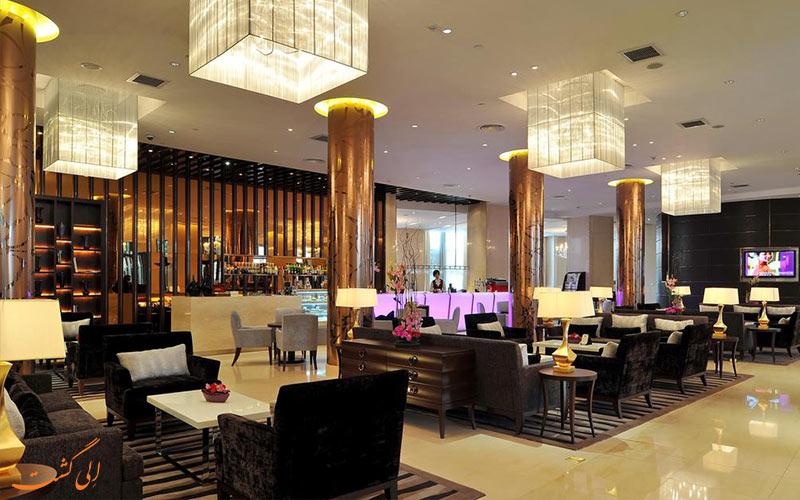 سالن غذاخوری و لابی هتل گرند مرکور شانگهای