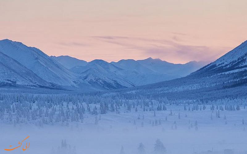 سرد ترین شهرهای روسیه