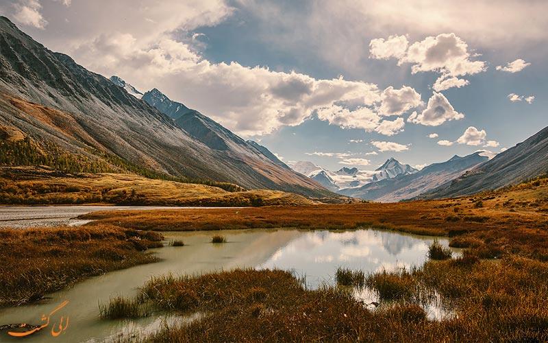 طبیعت کوهستانی از دیدنی های روسیه