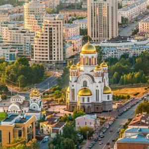 نقشه کامل روسیه و معرفی شهرهای مهم آن