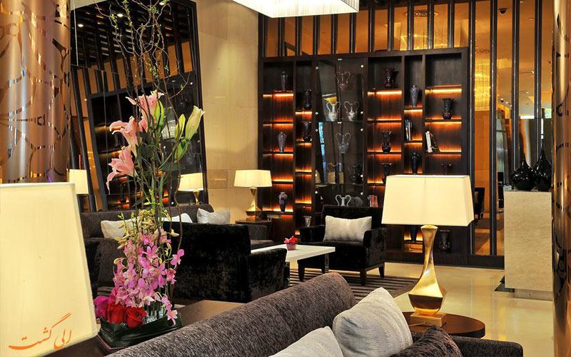 فضای درونی و عمومی هتل گرند مرکور شانگهای
