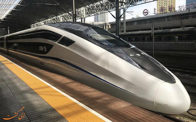 قطارهای سریع چین در مسیر و سفر پکن به شانگهای-شرایط زندگی در چین