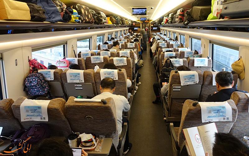 قطار درجه دو چین در سفر پکن به شانگهای