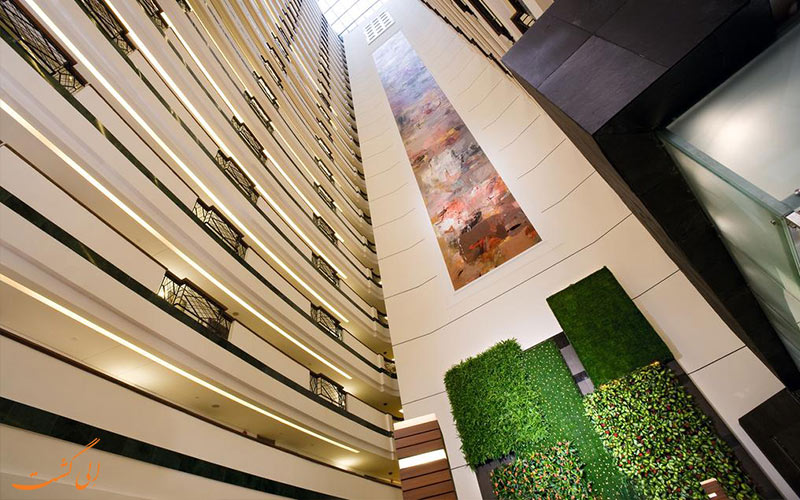 نمای لابی هتل گرند مرکور شانگهای