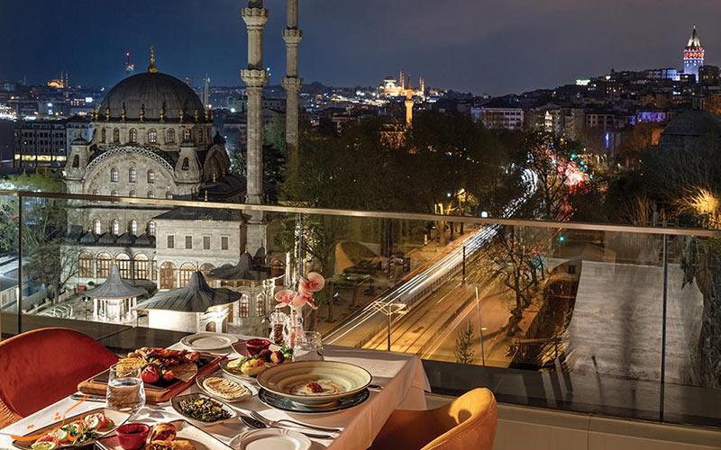 نمای هتل پورت بسفروس استانبول