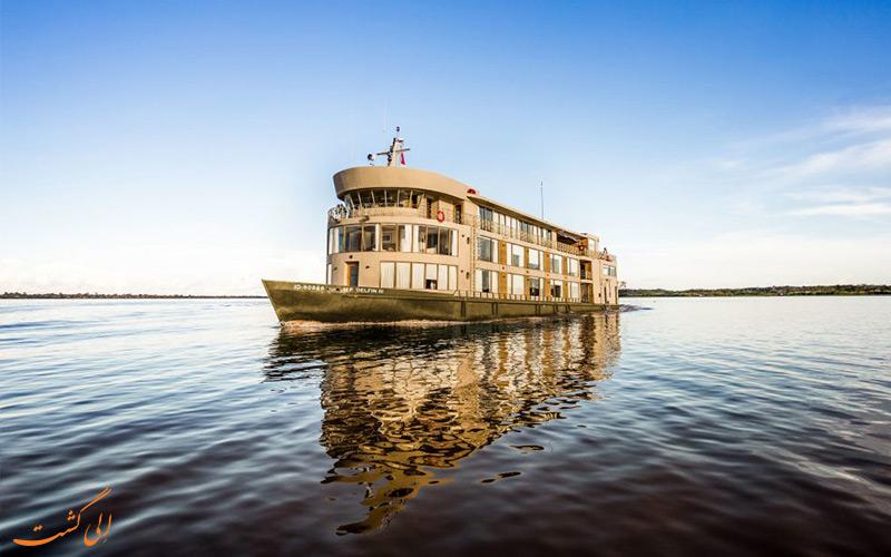 هتل-قایق-لوکس-سفر-آمازون-در-پرو