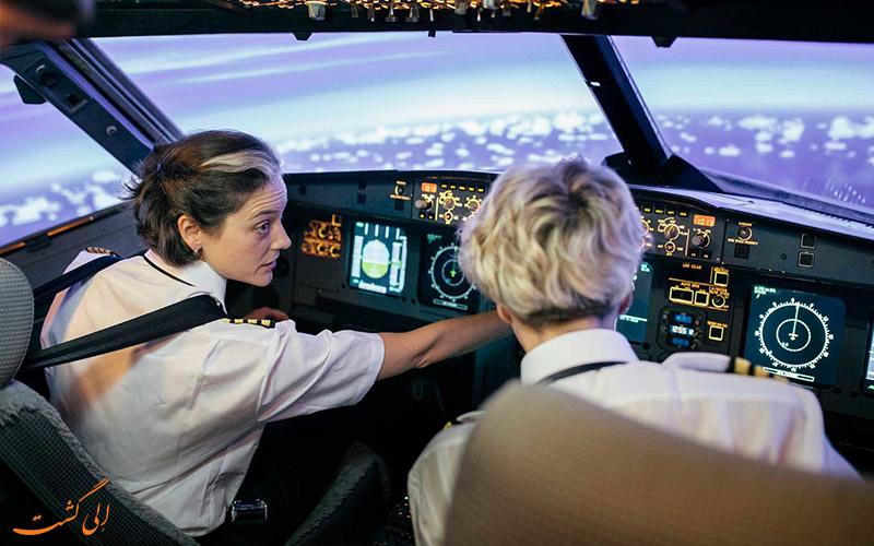 وظایف پروازی در ساعات کاری خلبان ها